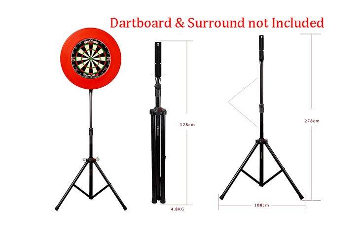 free standing dart board frame